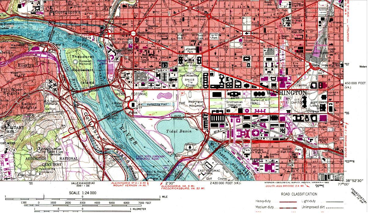 GotBooksMiraCostaedu - Washington dc map of monuments