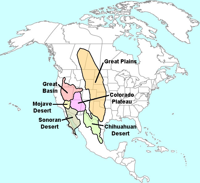map of great basin desert  Tularosa Basin 2017