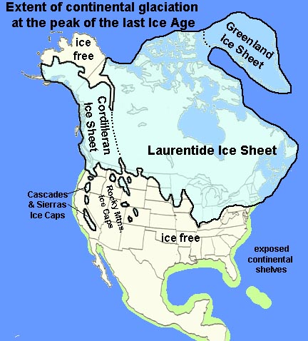 Gotbooksmiracosta the laurentide ice sheet blanketed the entire canadian shield region sciox Images