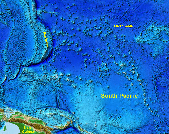 Gotbooksmiracostaoceans the south pacific region has numerous islands seamounts atolls and guyots all of them started forming as undersea volcanoes sciox Image collections